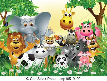 Clipart group of animals banner library library Group of animals clipart 5 » Clipart Station banner library library