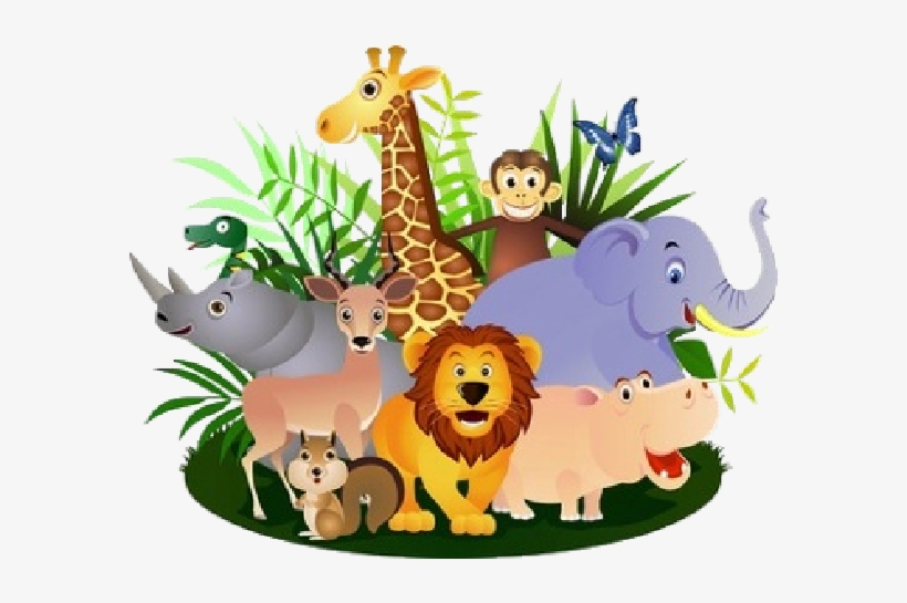 Clipart group of animals svg freeuse Wild Animals Clipart Png - Group Of Animals Clipart - 600x600 PNG ... svg freeuse
