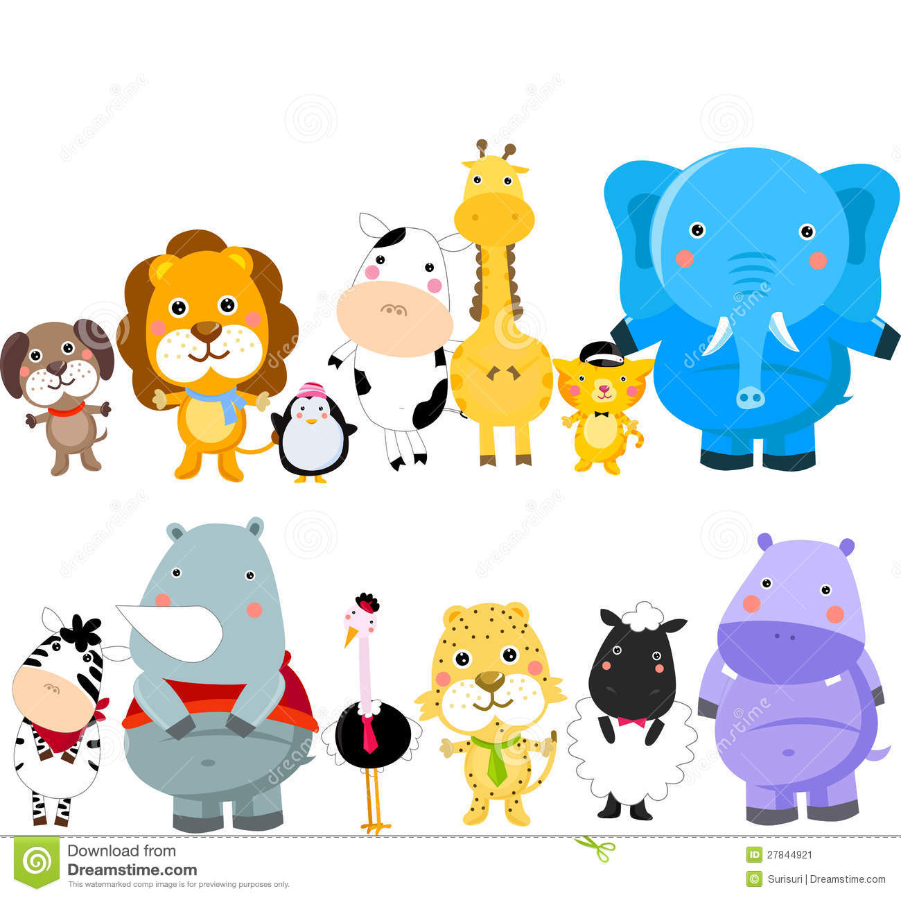 Clipart group of animals clipart library 17+ Wild Animals Clipart | ClipartLook clipart library