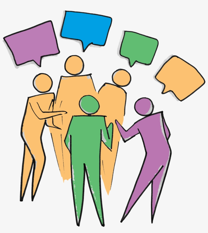 Clipart group talking download Diversity Clipart Group Debate - Group Of People Talking Clipart ... download