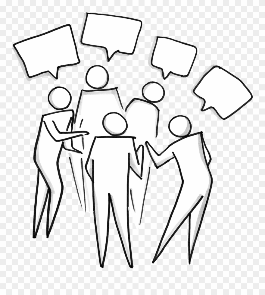 Clipart group talking jpg download People In A Group Talking - Cartoon Clipart (#952914) - PinClipart jpg download