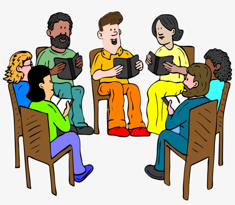 Clipart group talking svg Teacher Discussion - Group Of People Talking Clipart - Free ... svg