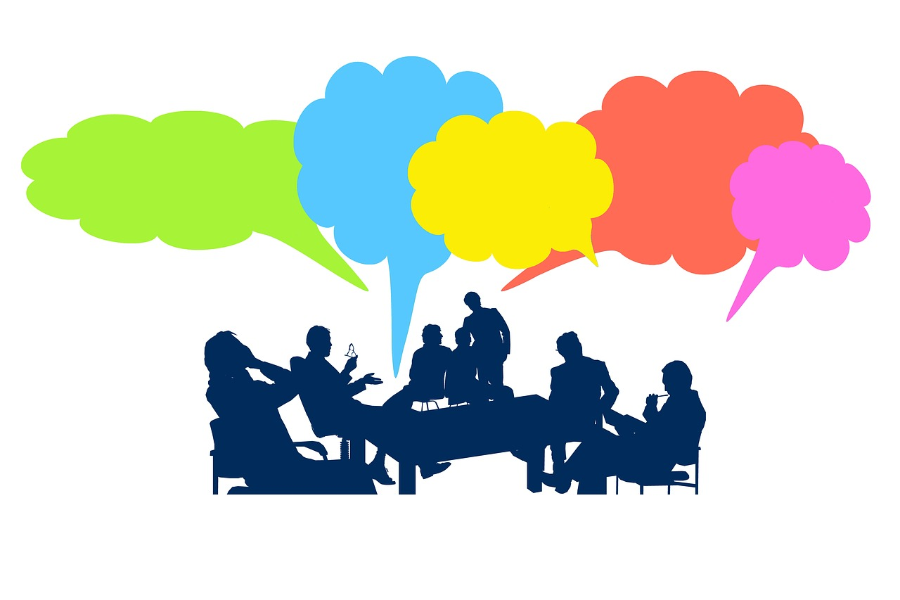 Clipart group talking png Focus Group Tips – Get Them Talking, Keep Them Talking png
