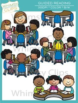 Clipart guided reading vector library Guided Reading Clip Art | Digital Classroom Clipart | Guided reading ... vector library