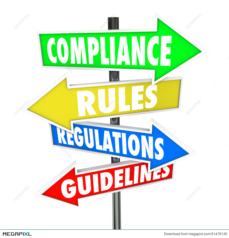 Clipart guidlines image black and white library Compliance Rules Regulations Guidelines Arrow Signs - 830*800 - Free ... image black and white library