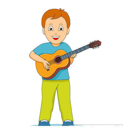 Guitar playing clipart clip art library stock Guitar Player Clipart Sketch 4436 - Clipart1001 - Free Cliparts clip art library stock