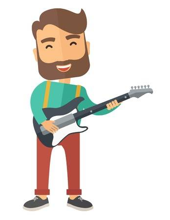 Clipart guitar player jpg black and white download Guitar player clipart » Clipart Station jpg black and white download