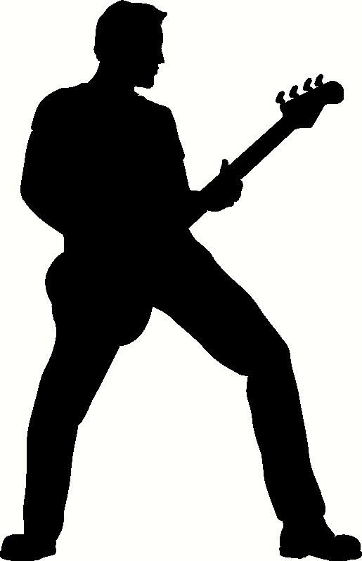 Playing multiple instruments at the same time clipart image free download Free download Guitar Player Silhouette Clipart for your creation ... image free download