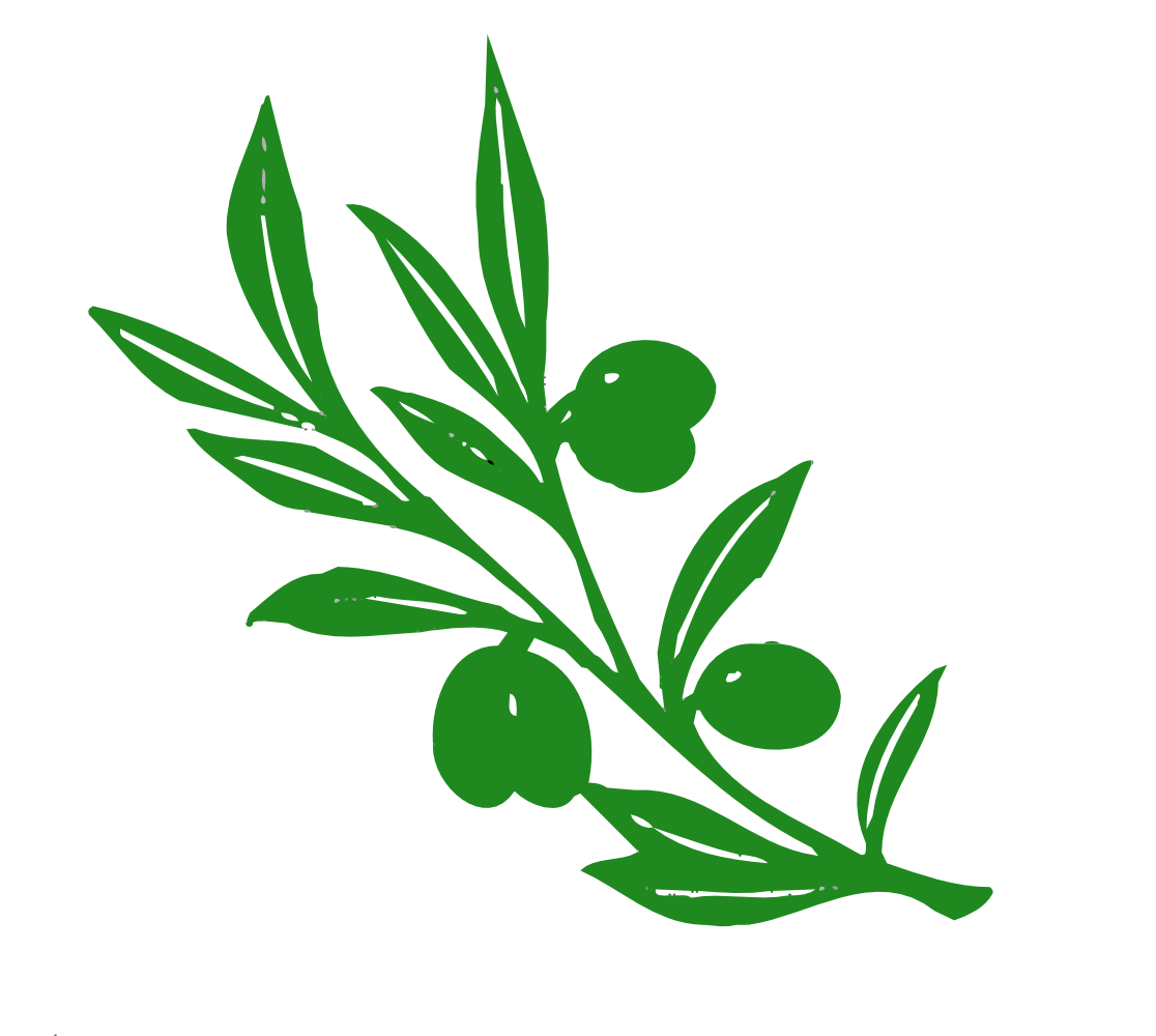Clipart gum tree svg black and white download OnlineLabels Clip Art - Olive Tree Branch svg black and white download