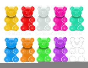 Gummy bears clipart clip black and white download Gummi Bears Clipart | Free Images at Clker.com - vector clip art ... clip black and white download