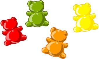 Gummy bears clipart vector Gummy Bear Clipart & Look At Clip Art Images - ClipartLook vector