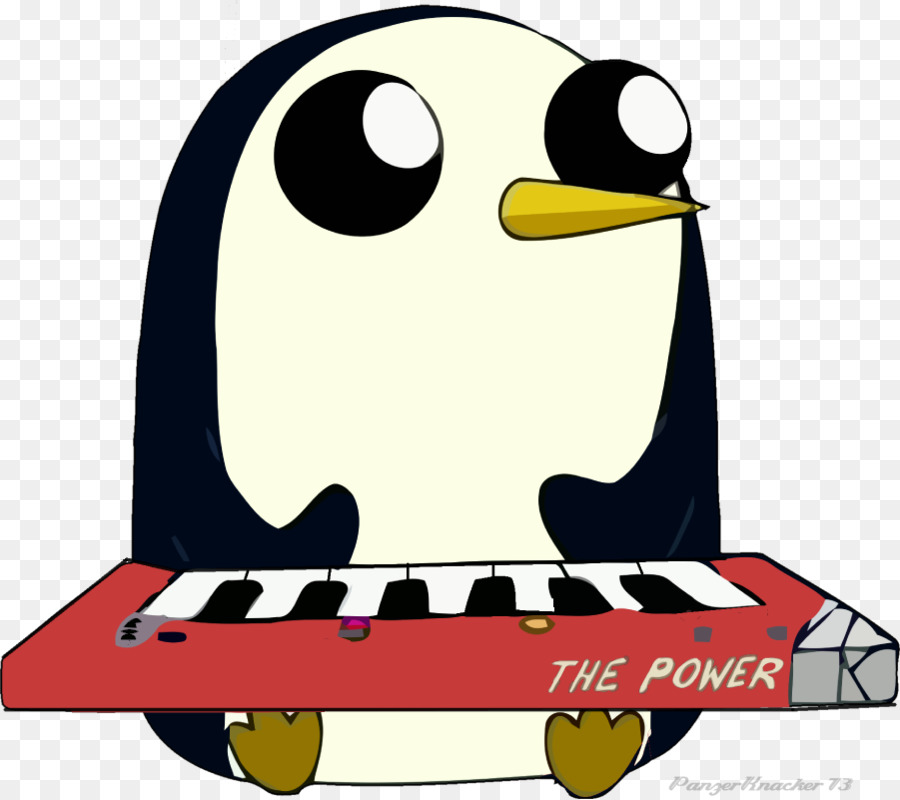 Clipart gunter picture black and white download Marceline The Vampire Queen clipart - Piano, Bird, Penguin ... picture black and white download