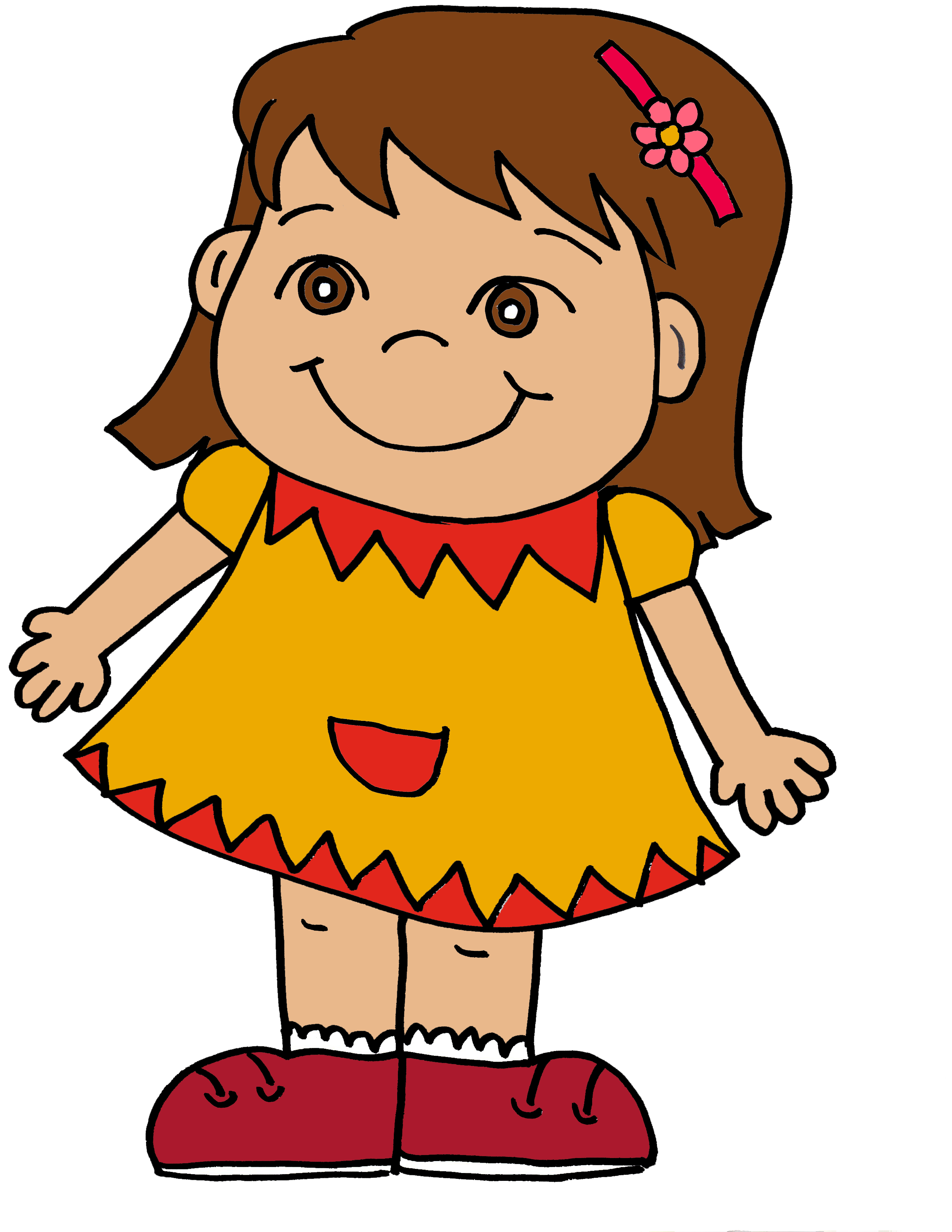 Girl image clipart graphic freeuse stock Free Girl Cliparts, Download Free Clip Art, Free Clip Art on Clipart ... graphic freeuse stock