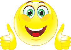 Orange smiley face button. Clipart gut gemacht