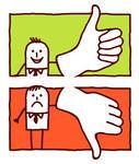 Clipartfest thumb up down. Clipart gut schlecht