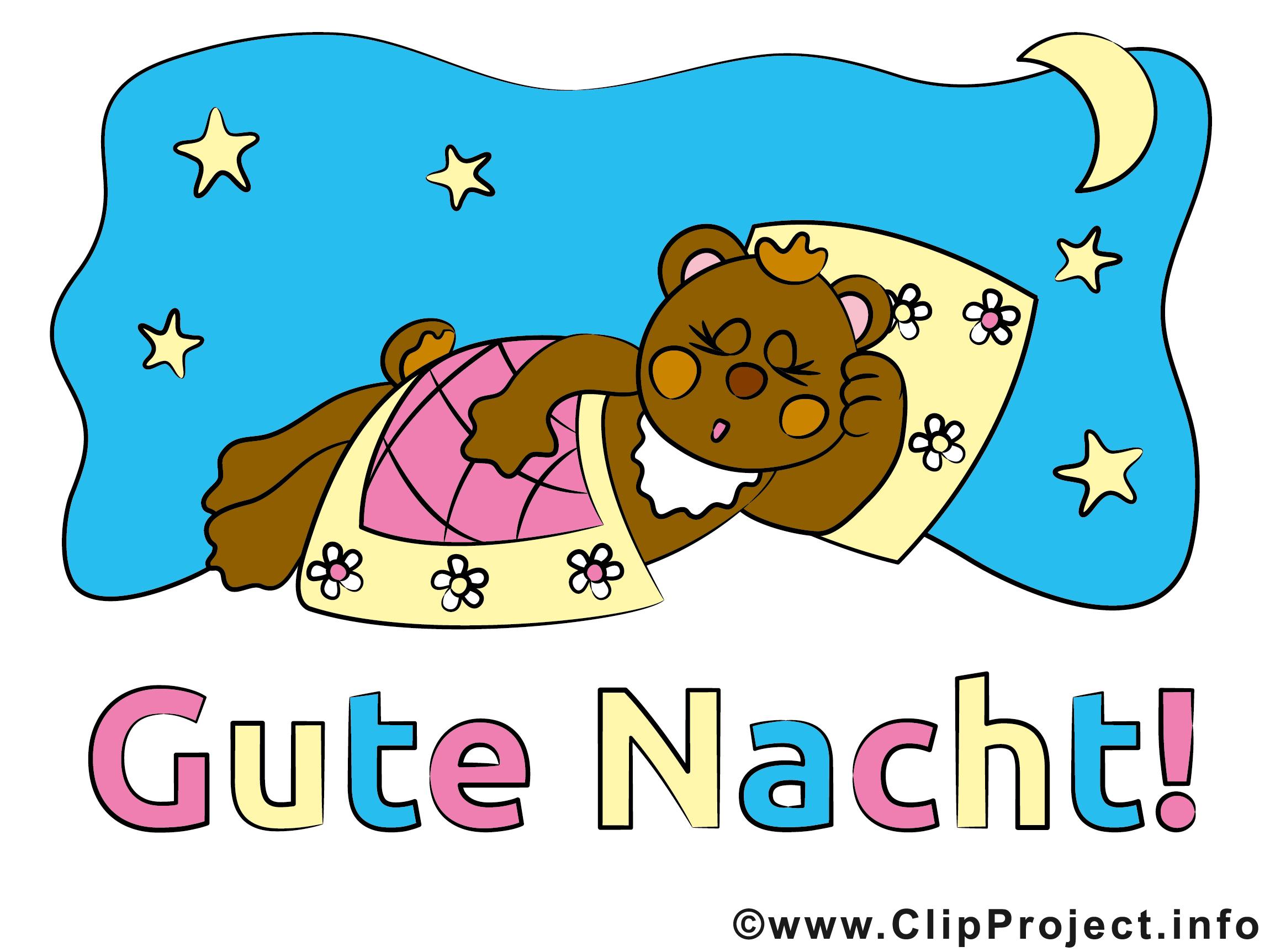 Clipart gute nacht picture transparent download Ein kleiner Bär sagt Gute Nacht picture transparent download