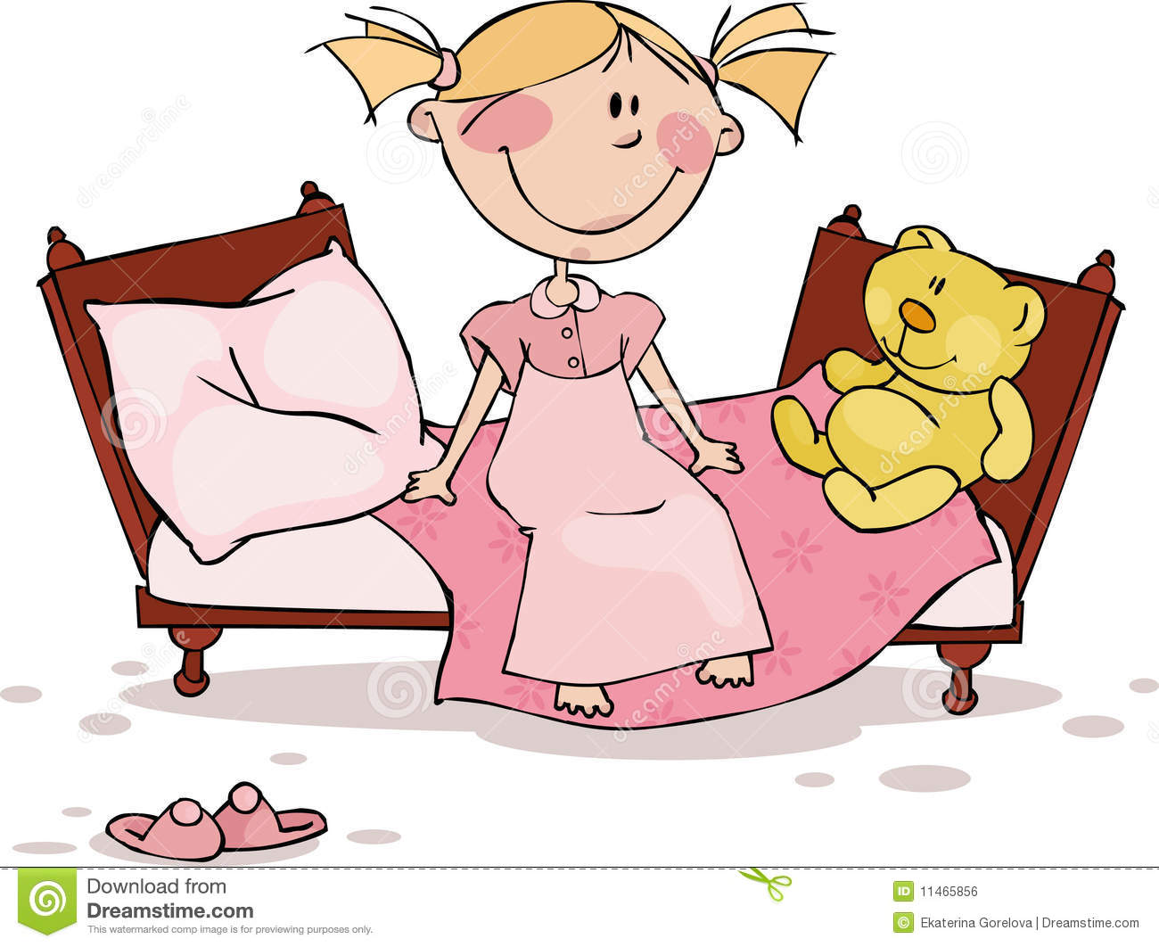 Clipart gute nacht image royalty free library Pajamas Stock Illustrations – 2,354 Pajamas Stock Illustrations ... image royalty free library