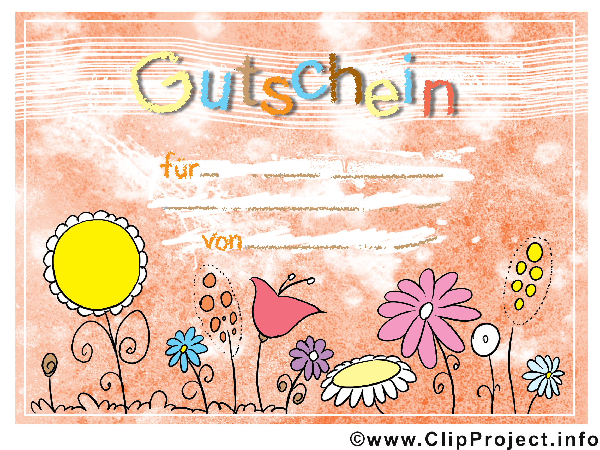 Clipart gutschein geburtstag clip art free stock Gutschein clipart - ClipartFest clip art free stock