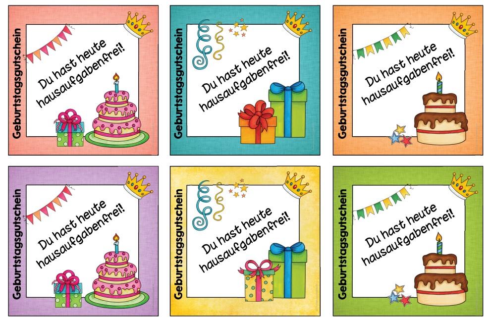 Clipart gutschein geburtstag black and white download Ideenreise: Hausigutscheine für den Geburtstag black and white download
