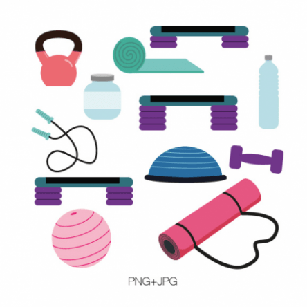 Clipart gym equipment clip art library library Gym Equipment Clipart – art drawing equipment clip art library library