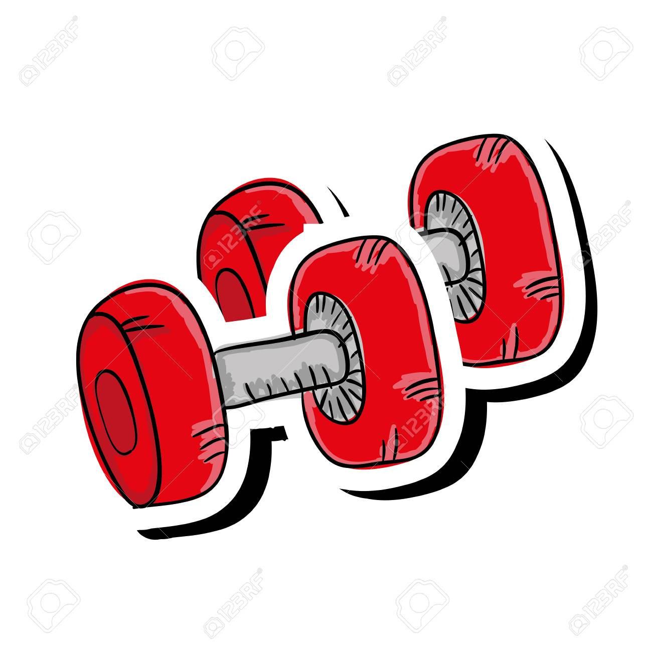 Clipart gym equipment picture free download Dumbbell gym equipment » Clipart Station picture free download