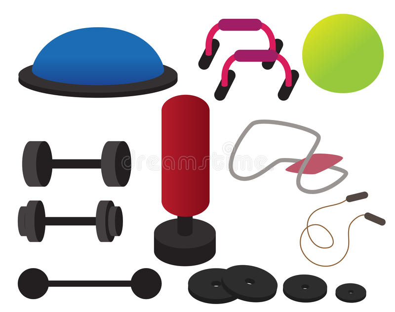 Clipart gym equipment image royalty free Workout Equipment Clipart - Best Equipment In The World image royalty free