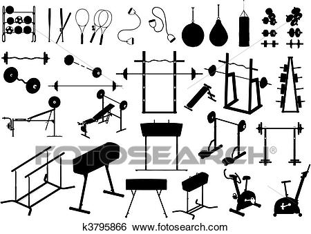 Clipart gym equipment image royalty free stock Clipart gym equipment 2 » Clipart Station image royalty free stock
