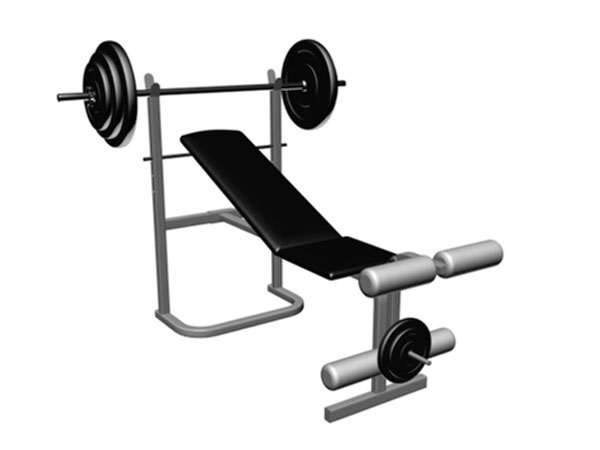Clipart gym equipment vector black and white Download Gym Equipment Clipart | Clipart Panda - Free Clipart Images vector black and white
