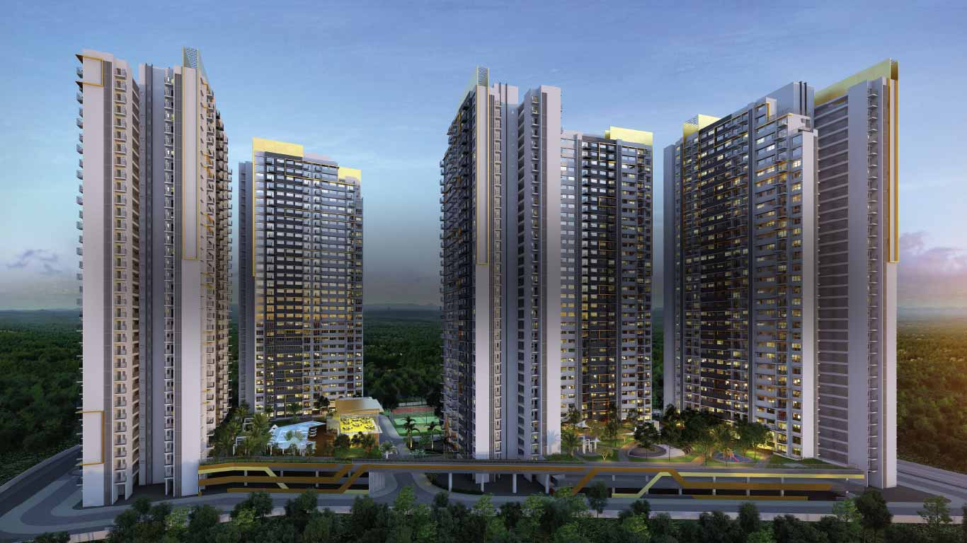 Clipart hadapsar pune gold rate clipart black and white stock Amanora Gold Towers | 1/1.5/2 BHK Flats For Sale in Hadapsar, Pune clipart black and white stock