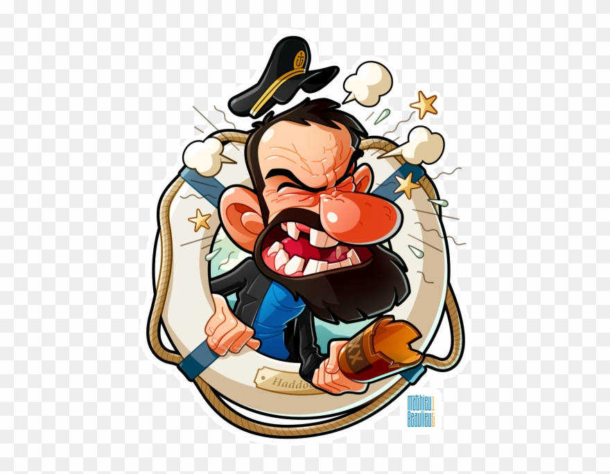 Clipart haddock jpg royalty free Captain Haddock I\'ve Done A Captain Haddock Portrait Clipart ... jpg royalty free
