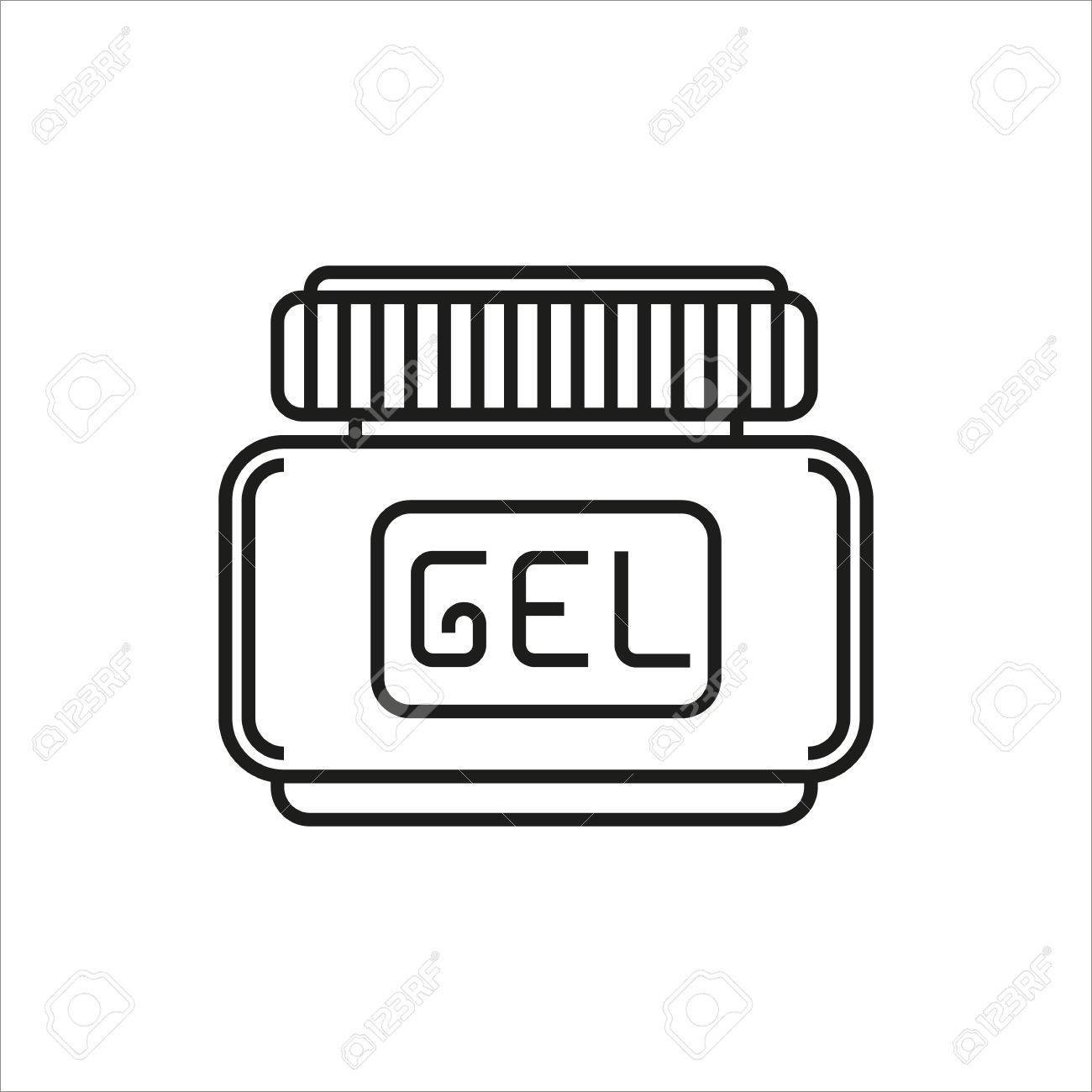 Hairgel clipart png library stock Hair gel simple icon on white background » Clipart Portal png library stock