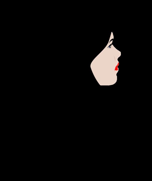 Clipart hair image svg freeuse stock Art,Black Hair,Girl Clipart - Royalty Free SVG / Transparent Clip art svg freeuse stock