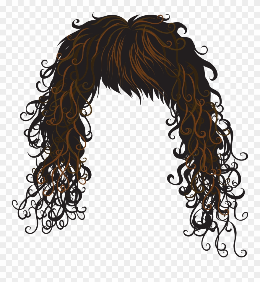 Clipart hair image royalty free Hair Clipart Free Download Clip Art On - Vector Hair - Png Download ... royalty free
