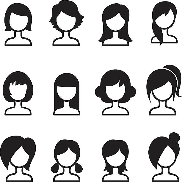 Clipart hair style image royalty free stock Hair style clipart 6 » Clipart Station image royalty free stock