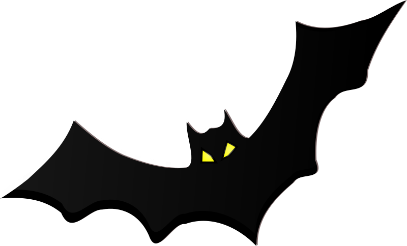 Clipart halloween bat vector royalty free library Clipart - bat vector royalty free library
