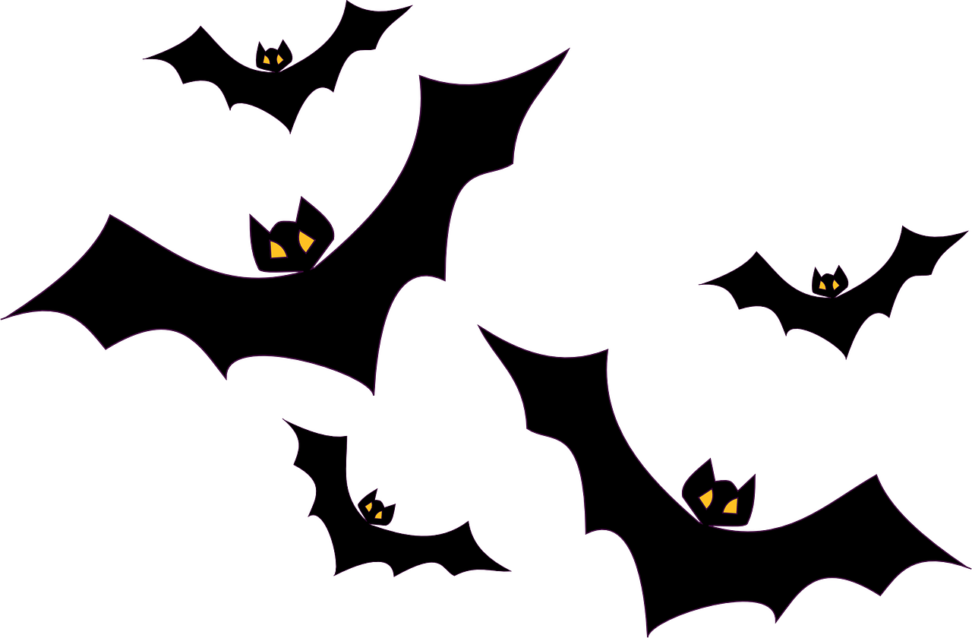 Clipart halloween creepy banner transparent library Creepy Clipart bat - Free Clipart on Dumielauxepices.net banner transparent library