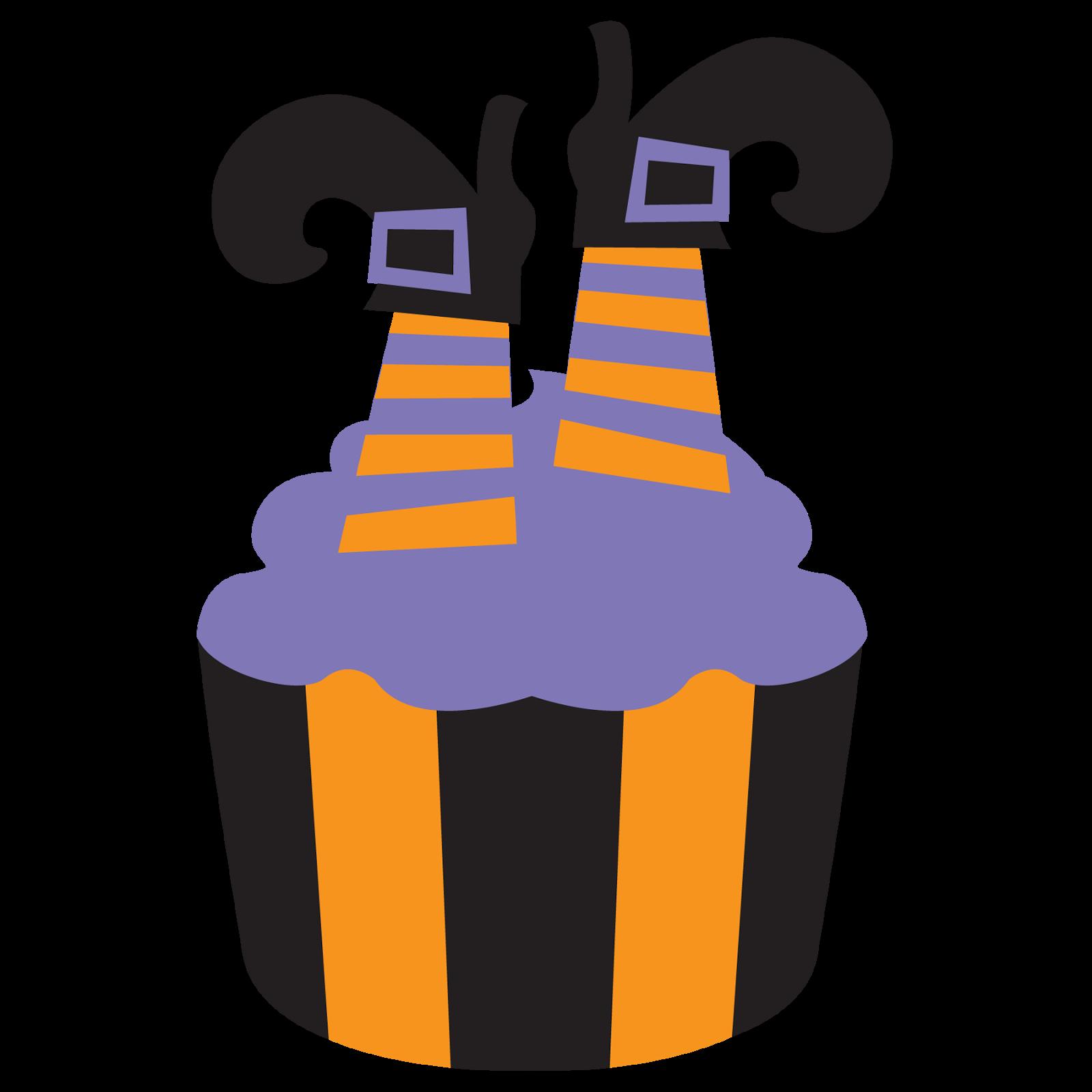 Cute halloween cupcake clipart banner Wonderdigi - Sandra Jones Illustration & Clipart: October 2014 banner