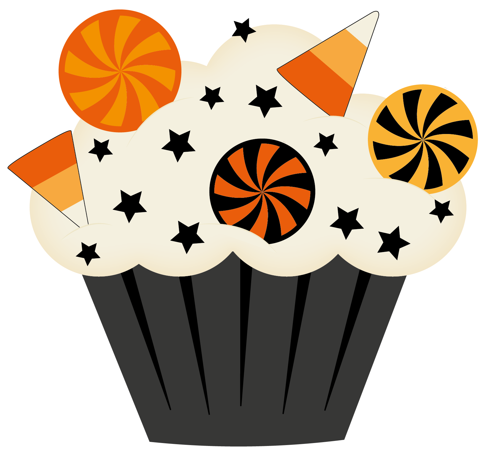 Halloween cake clipart png library Halloween cupcake clip art - Halloween cupcake clipart photo ... png library