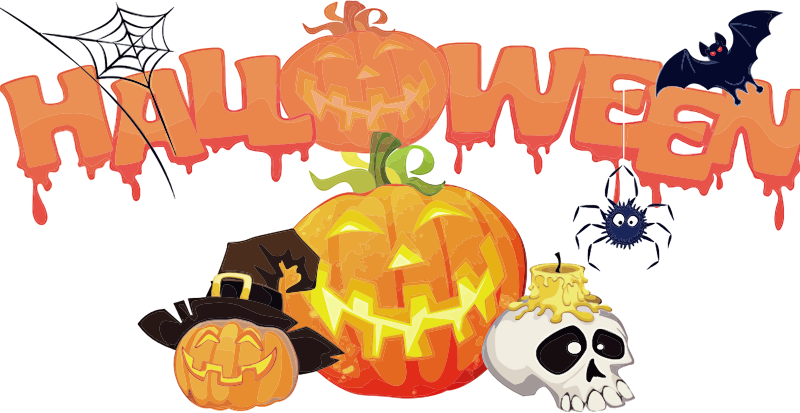 Clipart halloween cutouts png freeuse 28+ Collection of Halloween Decoration Clipart | High quality, free ... png freeuse