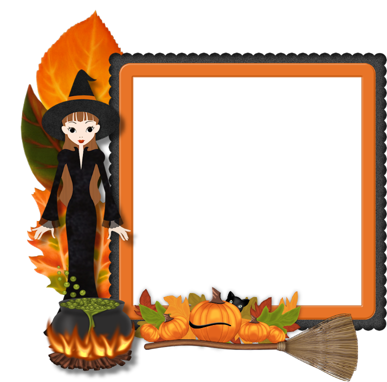 Clipart halloween frame graphic free download Best Free Frame Halloween Png Image #31331 - Free Icons and PNG ... graphic free download