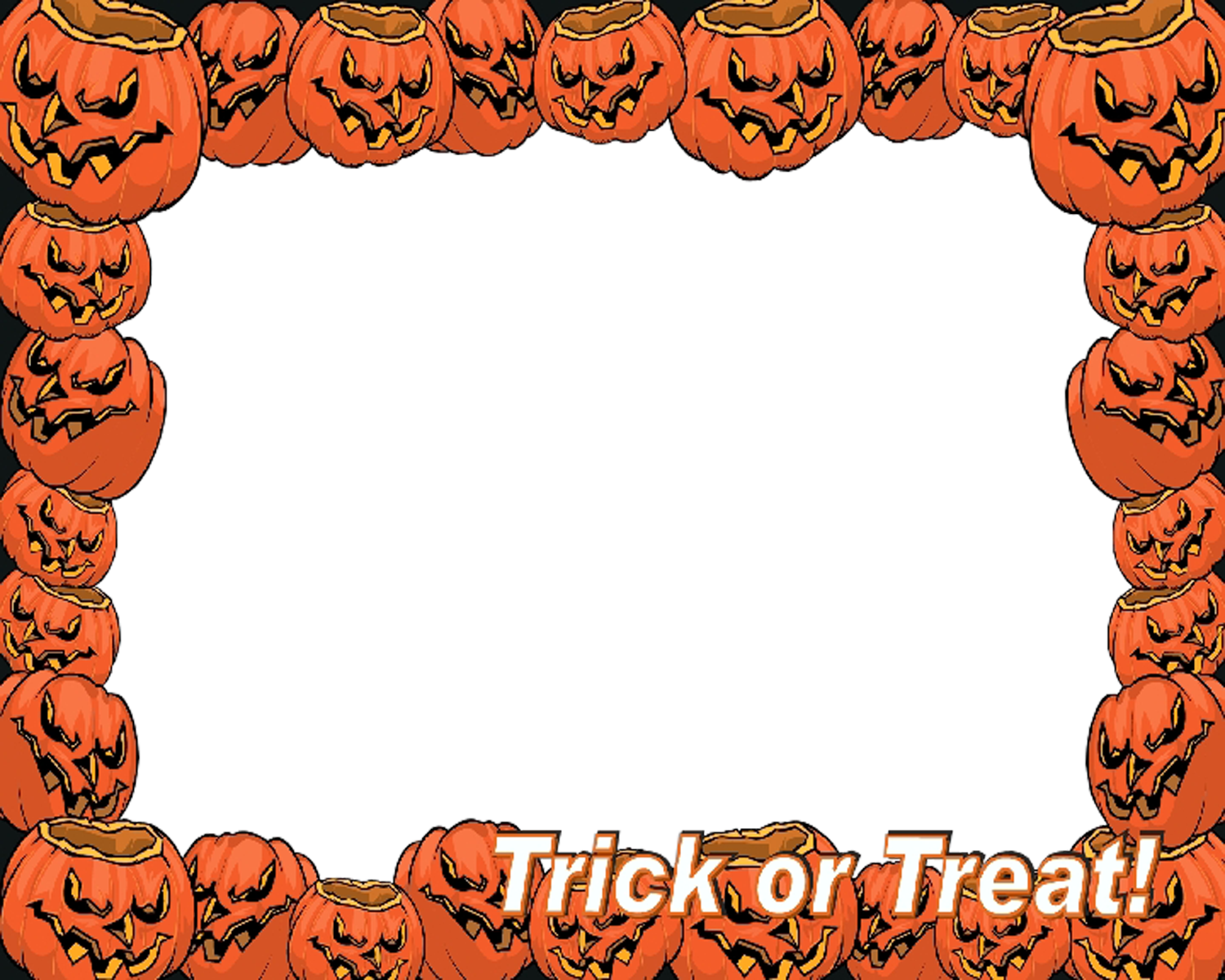 Free halloween frame clipart free library Frame Halloween Transparent PNG Pictures - Free Icons and PNG ... free library