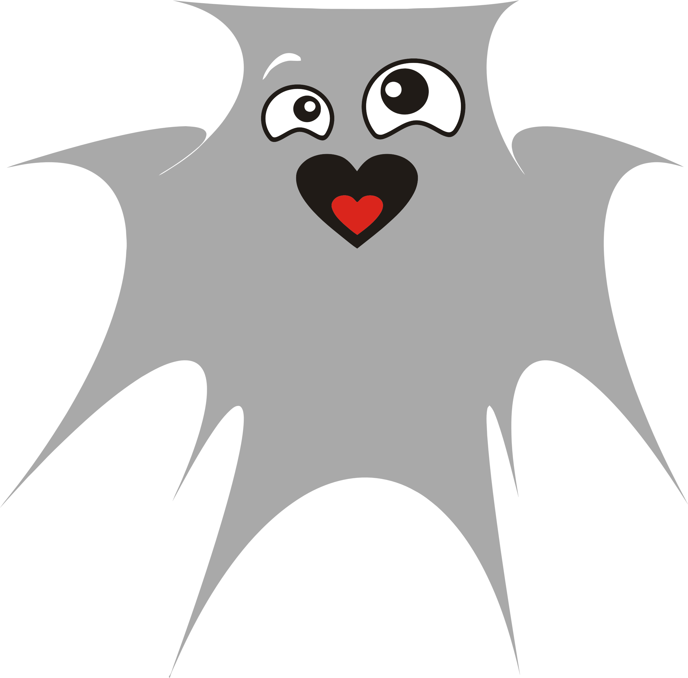 Clipart halloween ghost jpg library stock Clipart - Ghost In Love jpg library stock