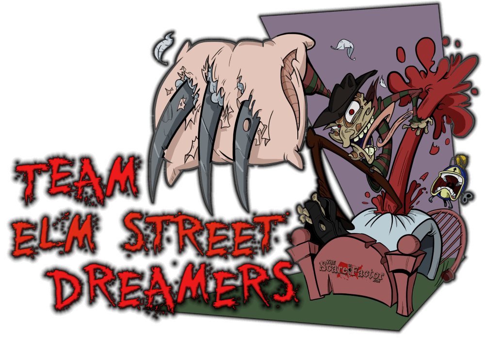 Clipart halloween haunted house svg Team Elm Street Dreamers - California Haunted House Review Team svg