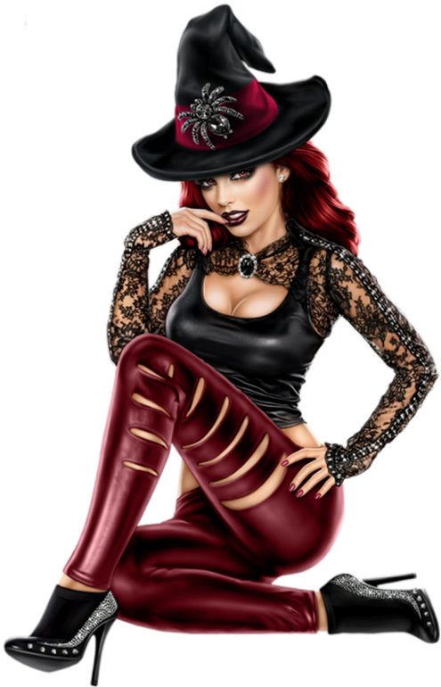 Clipart halloween male witch jpg Jolie sorcière png : tube Halloween - Pretty witch png | Witches And ... jpg