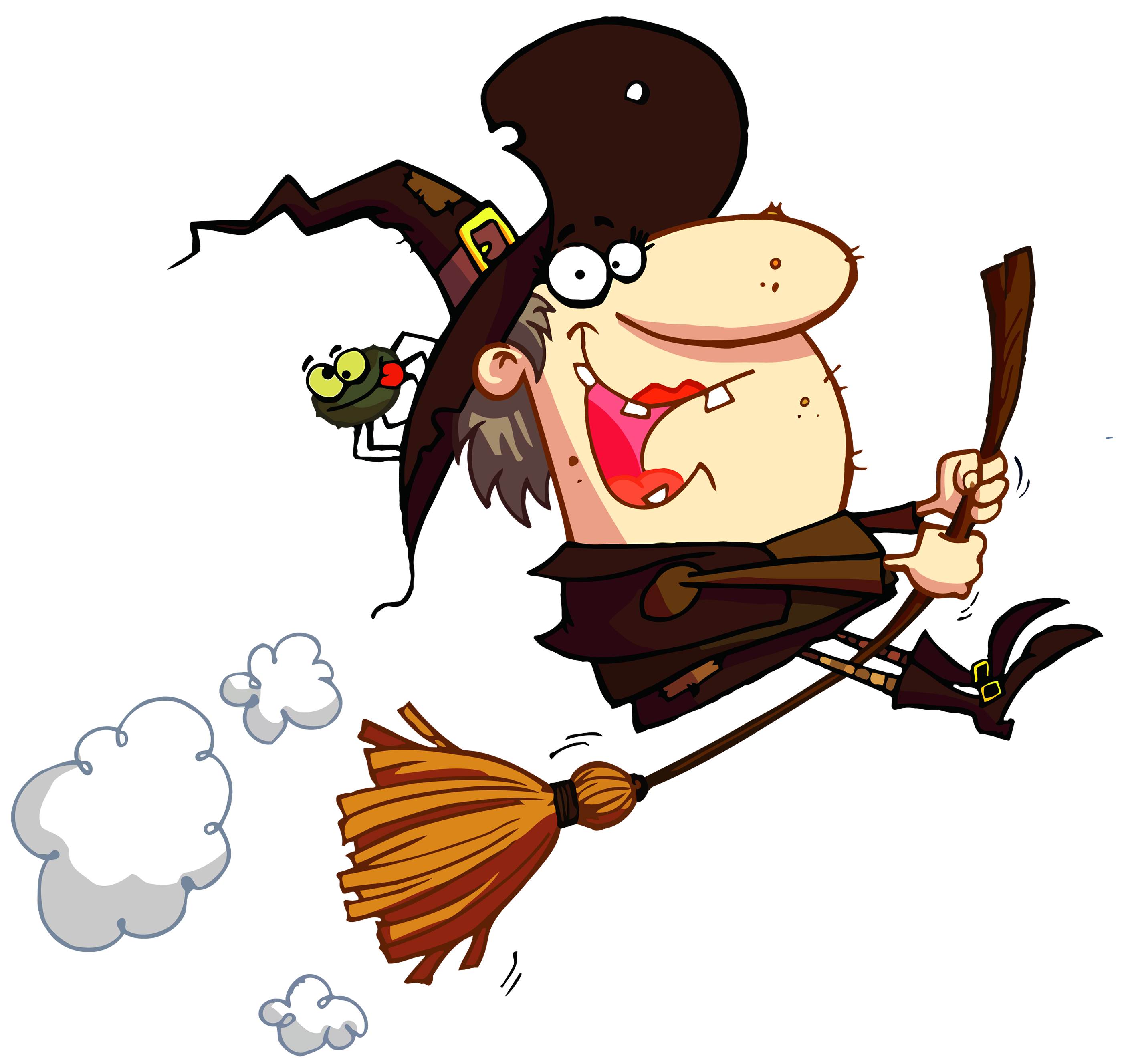 Primitive halloween clipart jpg royalty free library Funny Halloween Witch | Events | Pinterest | Clipart gallery ... jpg royalty free library