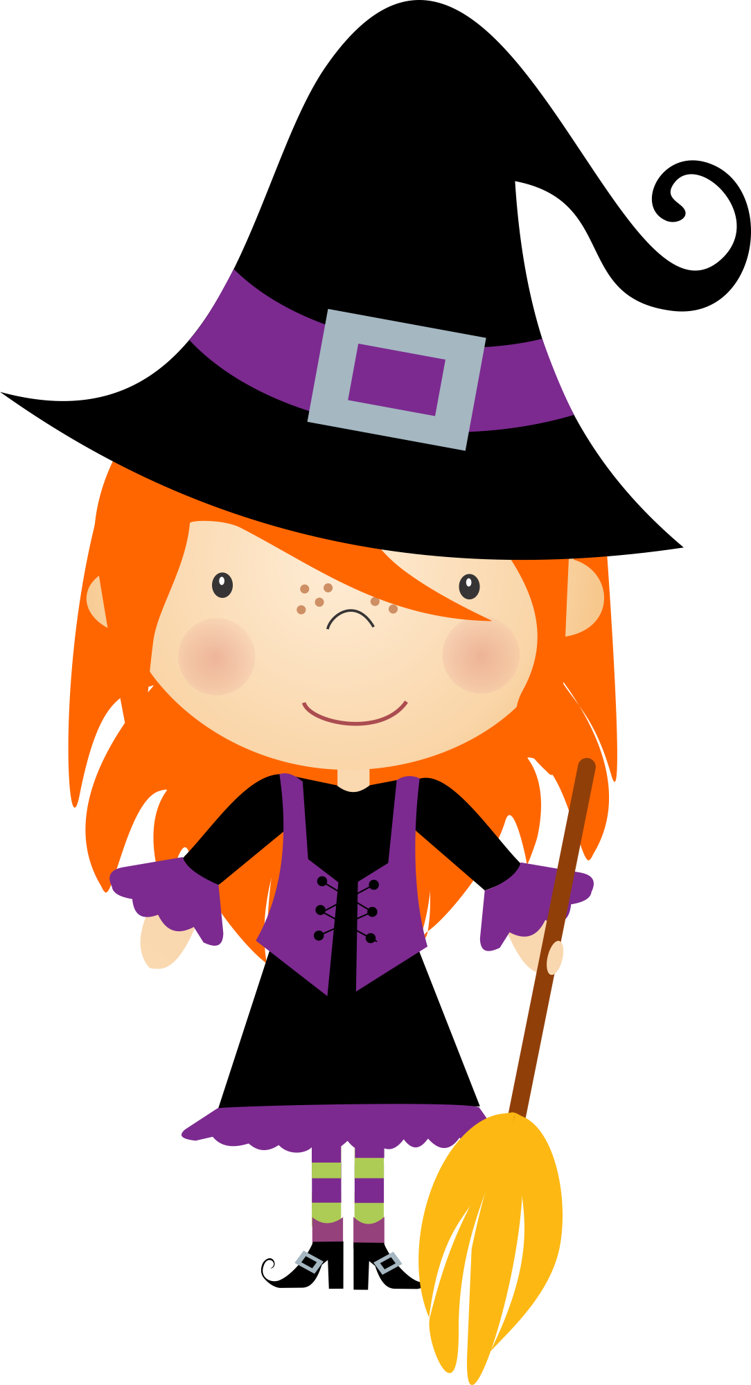 Witch halloween clipart graphic library library Halloween - Nini Scrap_Halloween Kids_02.png - Minus | BRUJAS ... graphic library library