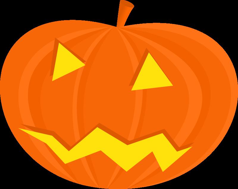 Clipart halloween masks banner free stock Clipart - halloween pumpkins banner free stock