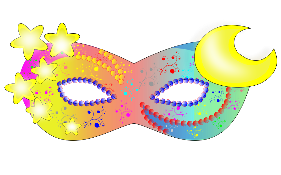 Halloween mask clipart royalty free Eye Mask Halloween Clip Art – Festival Collections royalty free