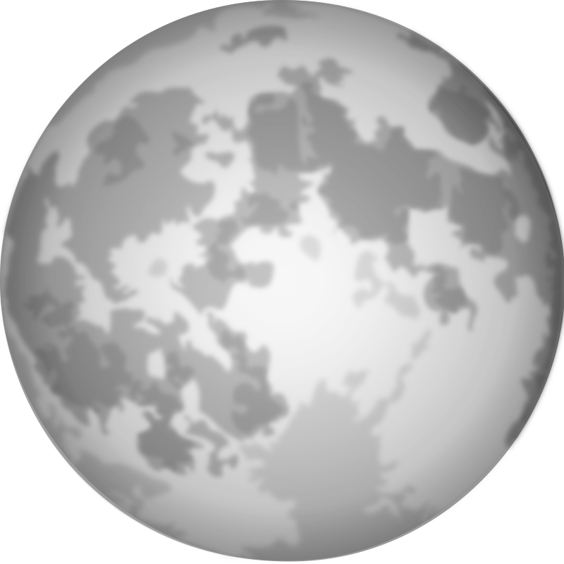 Halloween clipart moon picture freeuse stock Clipart - Halloween Bright Full Moon picture freeuse stock