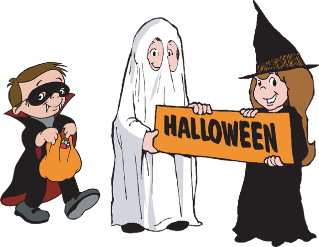 Clipart halloween trick or treaters picture library 28+ Collection of Halloween Trick Or Treaters Clipart | High quality ... picture library